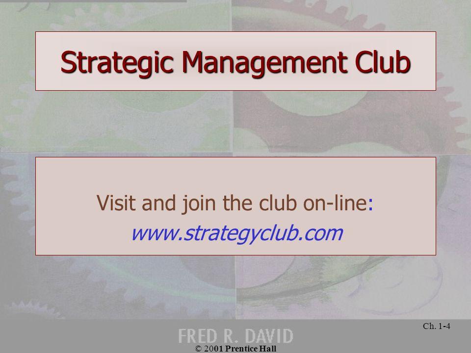 Strategic Management Club