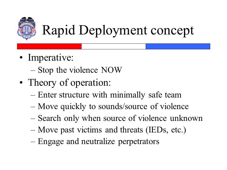 Rapid Deployment concept