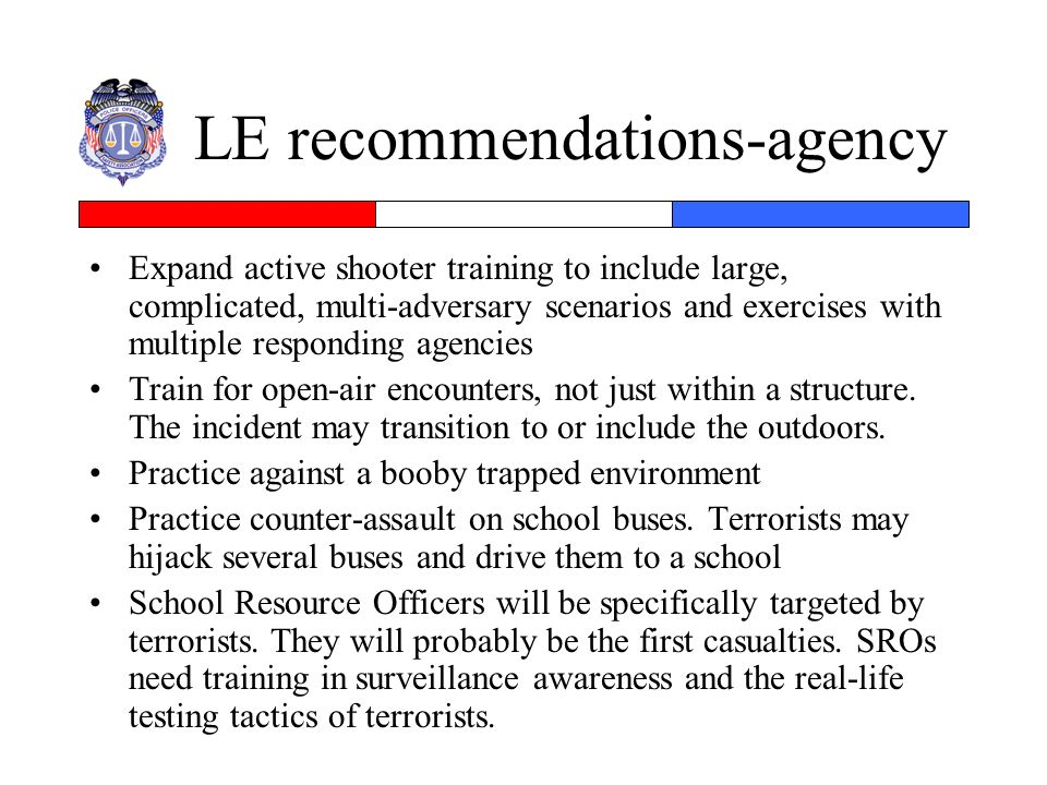 LE recommendations-agency