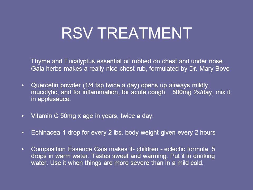 RSV TREATMENT