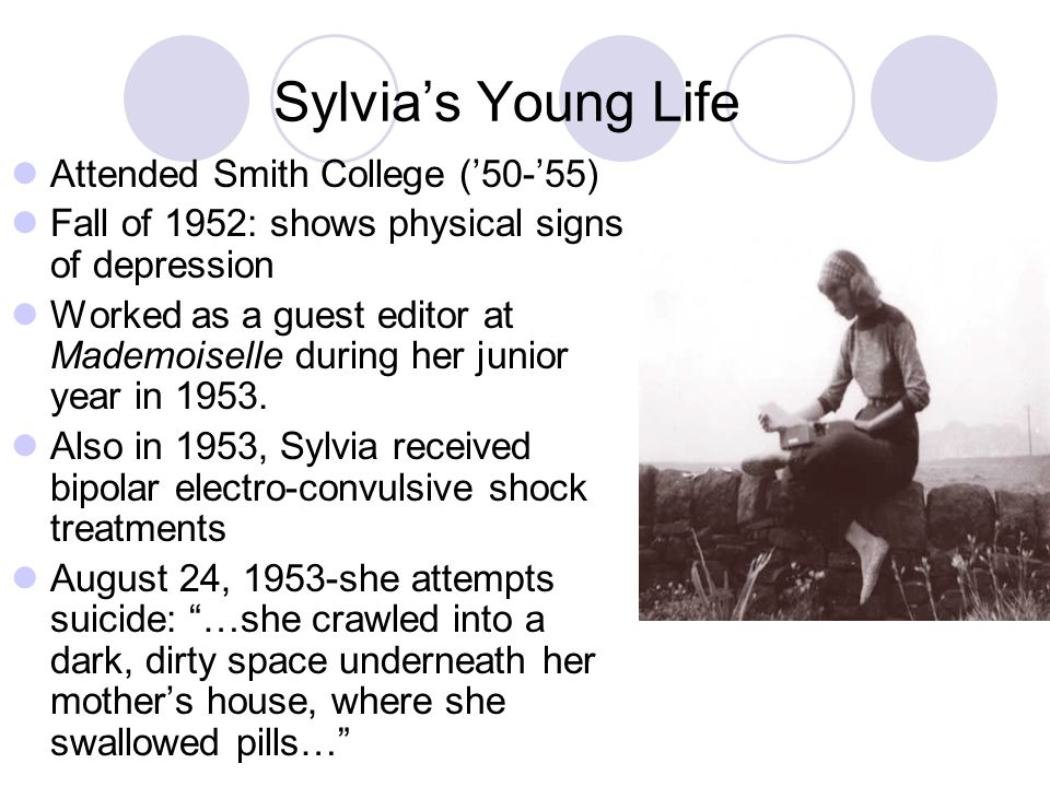 Sylvia's Young Life Attended Smith College ('50-'55)