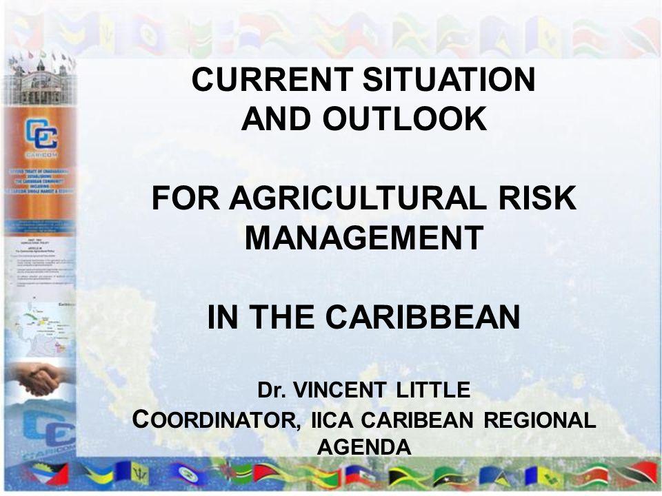 COORDINATOR, IICA CARIBEAN REGIONAL AGENDA