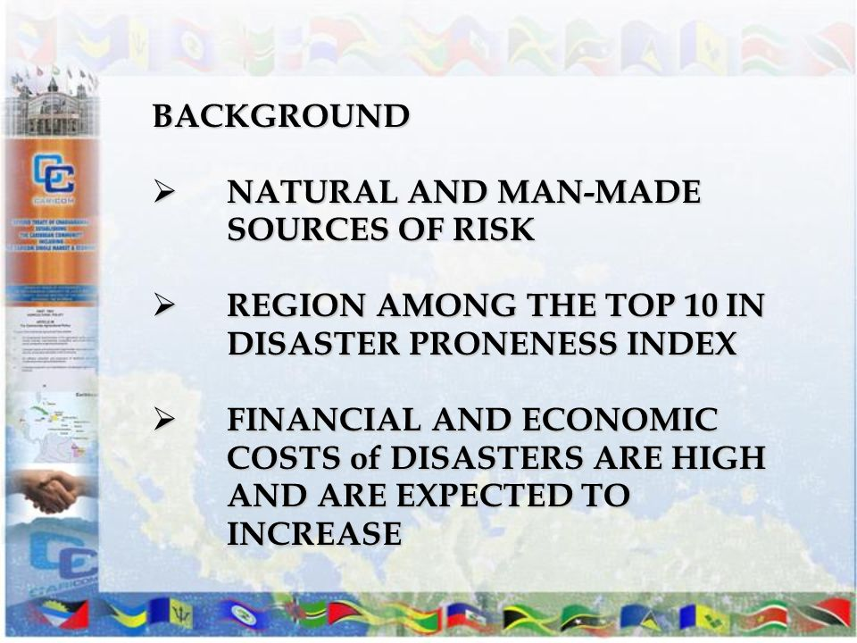 NATURAL AND MAN-MADE SOURCES OF RISK