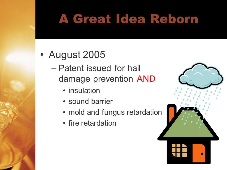 A Great Idea Reborn August 2005