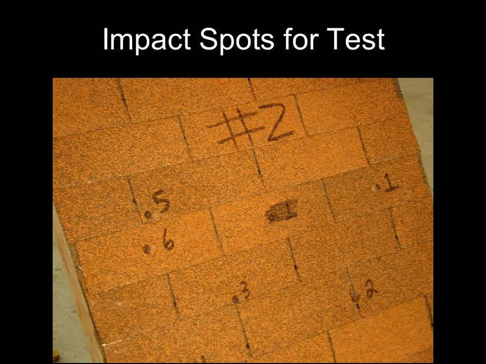 Impact Spots for Test