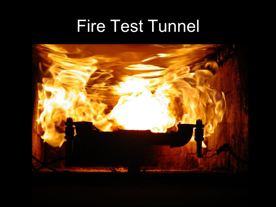 Fire Test Tunnel