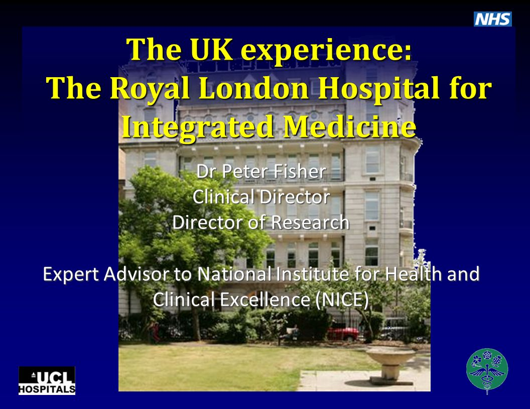 The Royal London Hospital for Integrated Medicine