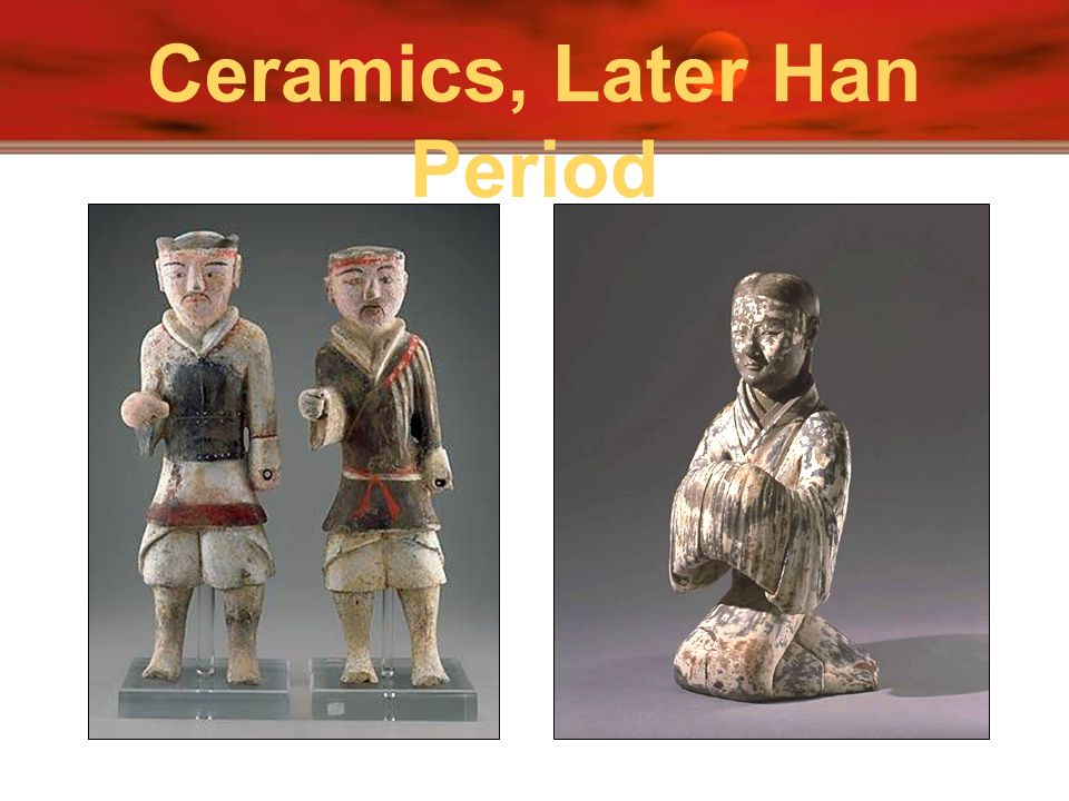 Ceramics, Later Han Period