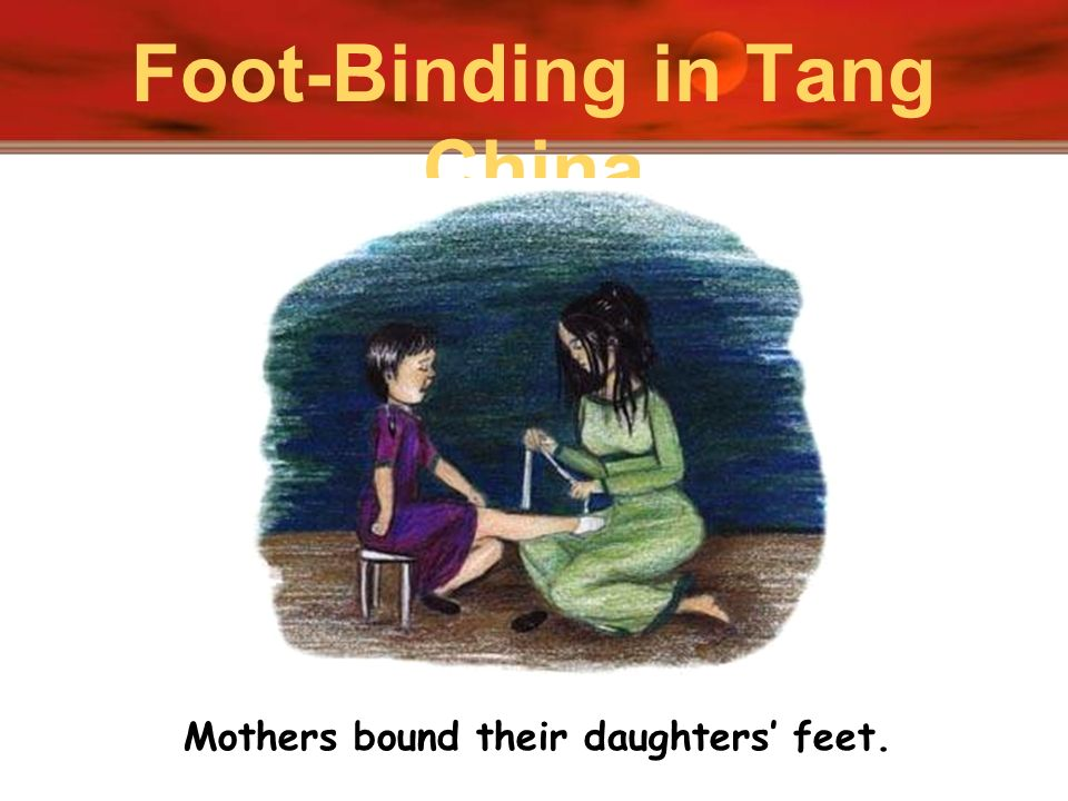 Foot-Binding in Tang China