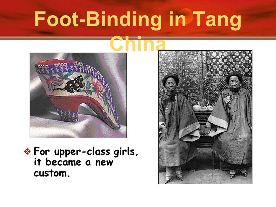 Foot-Binding in Tang China