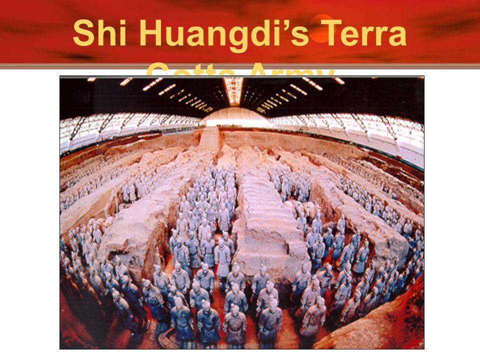 Shi Huangdi's Terra Cotta Army