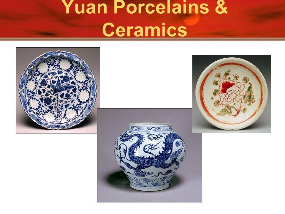 Yuan Porcelains & Ceramics