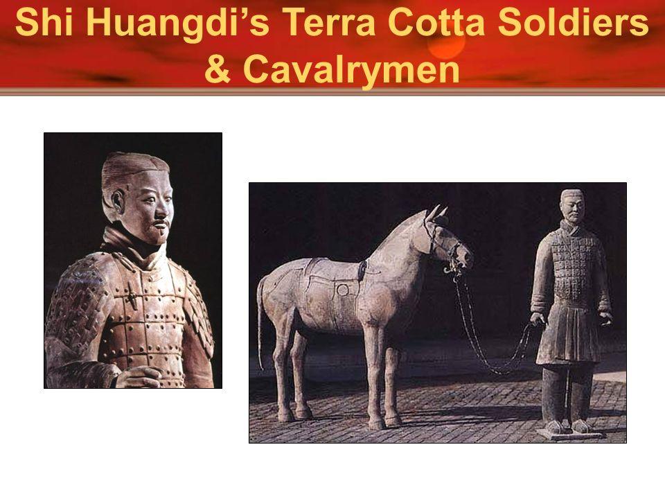 Shi Huangdi's Terra Cotta Soldiers & Cavalrymen