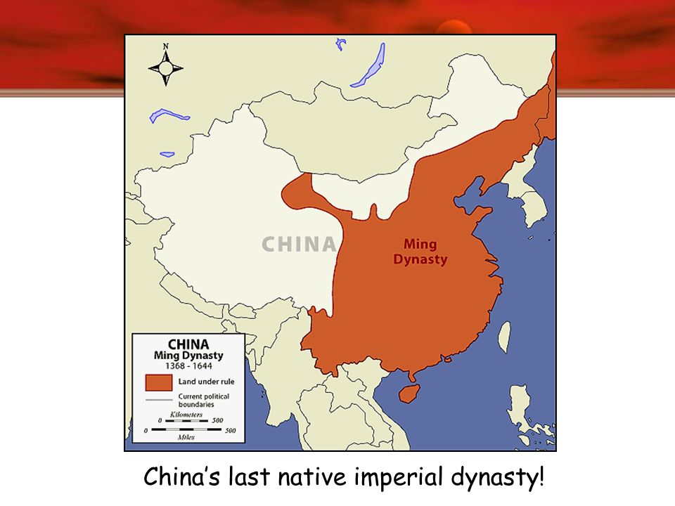 China's last native imperial dynasty!