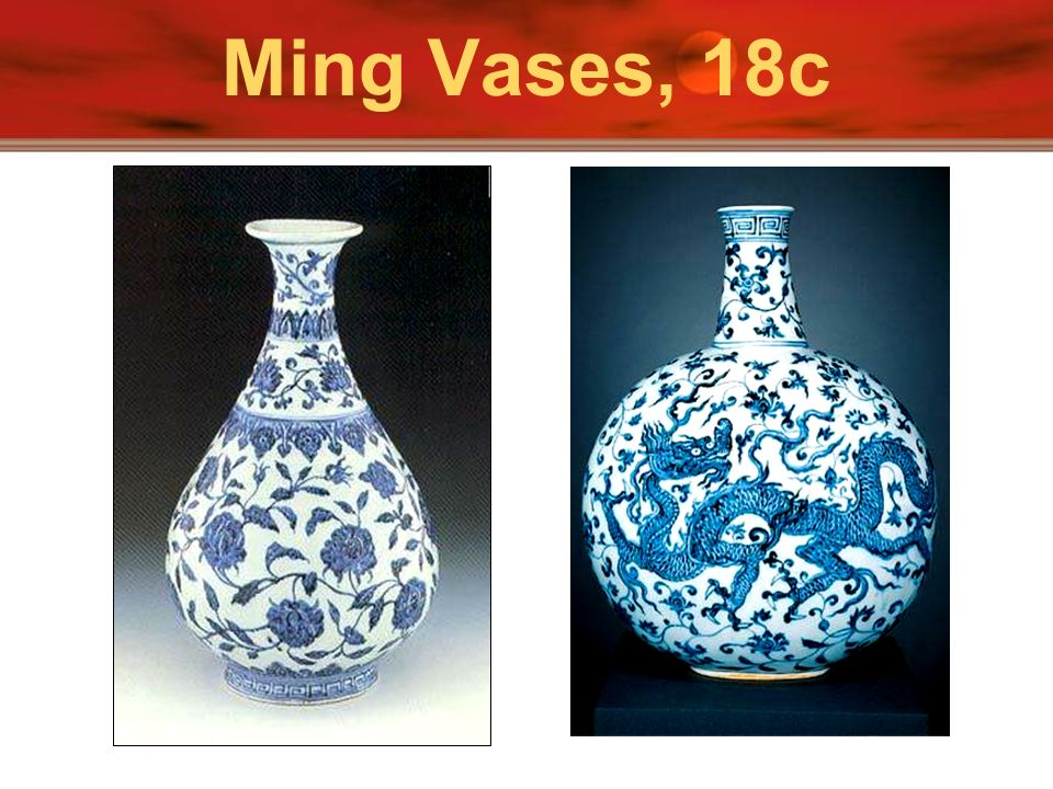 Ming Vases, 18c Above is a picture of Suzhou in Jiangsu province showing houses along the Grand Canal.