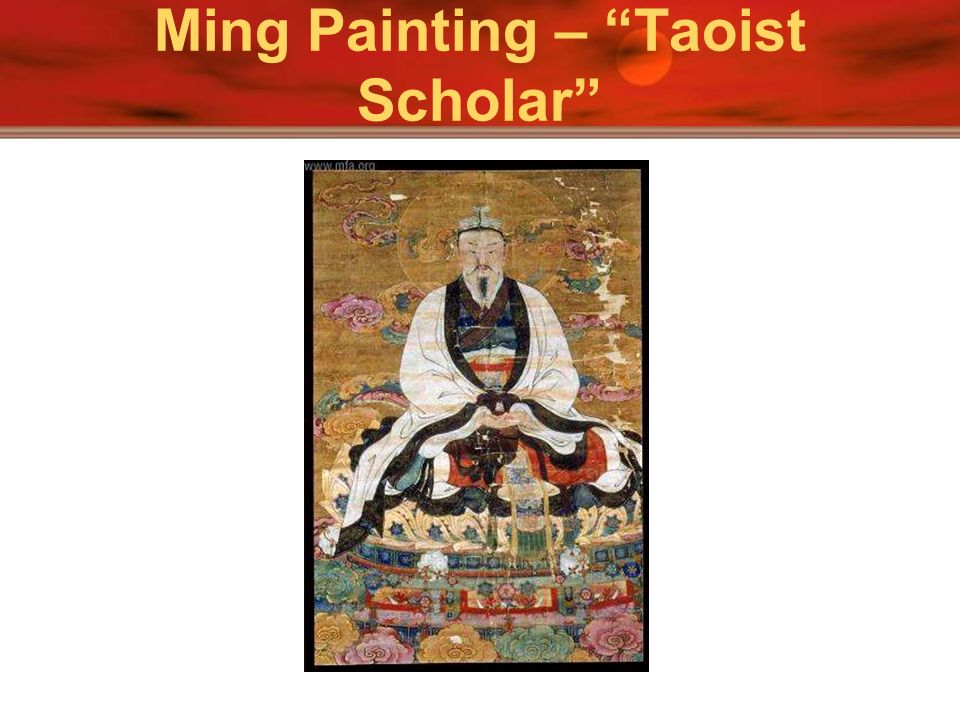 Ming Painting – Taoist Scholar