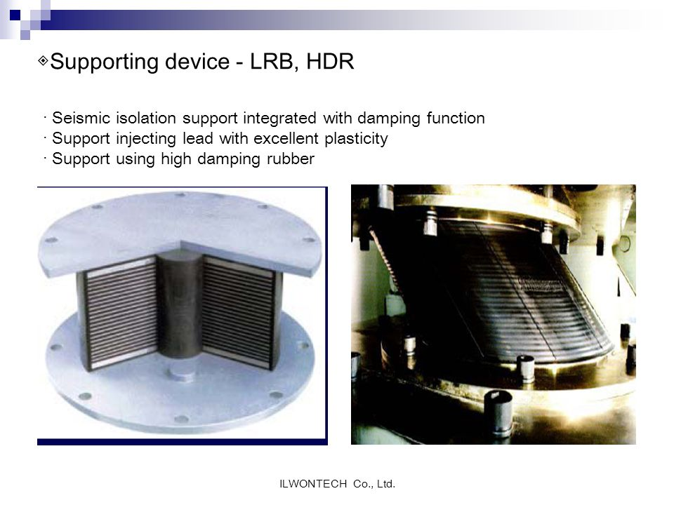◈Supporting device - LRB, HDR