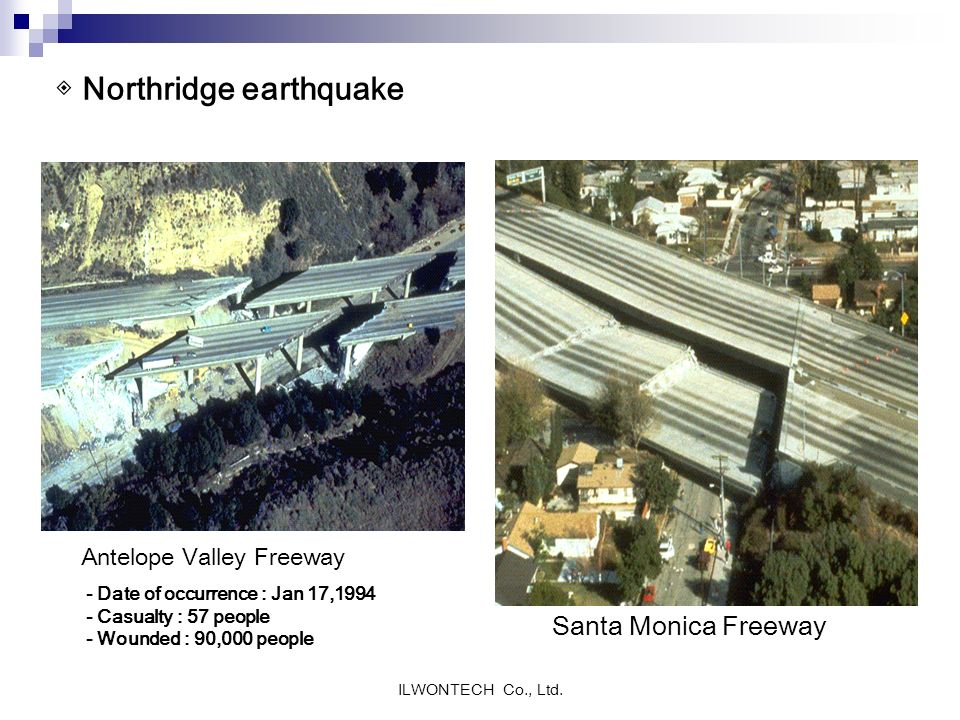◈ Northridge earthquake