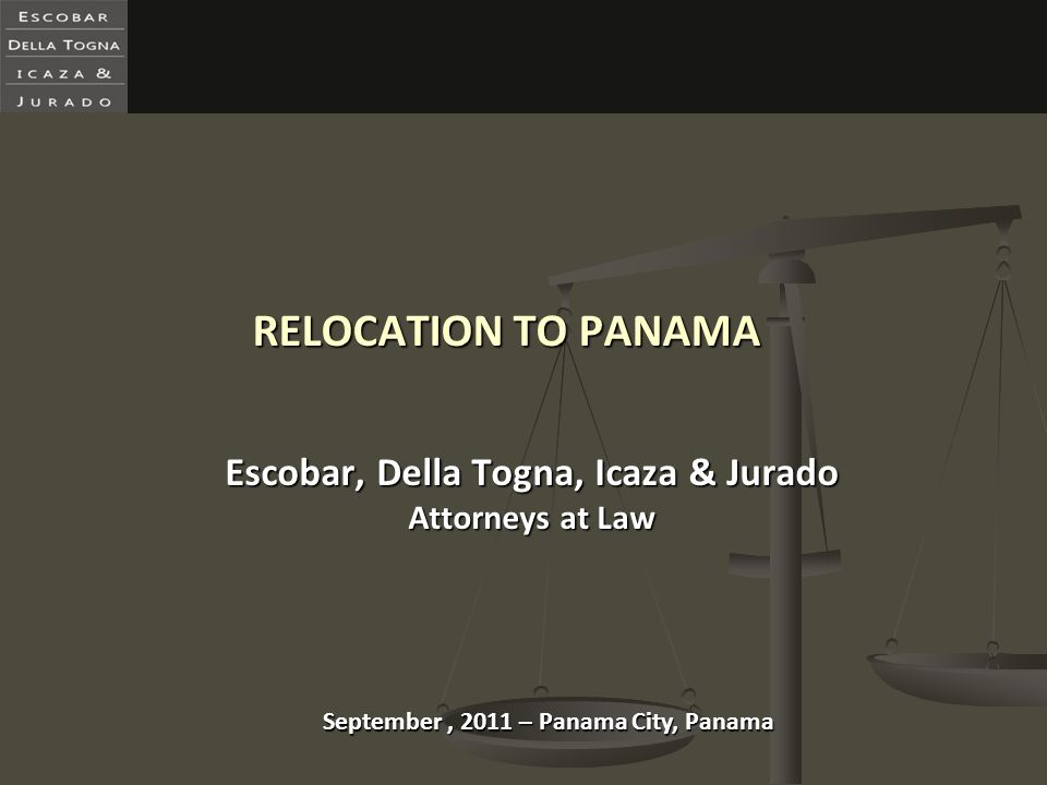 Escobar, Della Togna, Icaza & Jurado Attorneys at Law