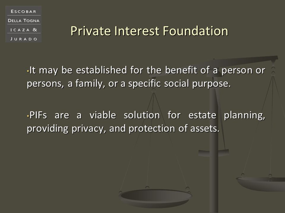 Private Interest Foundation