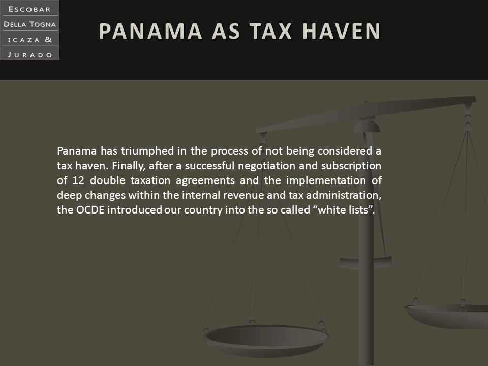 PANAMA AS TAX HAVEN
