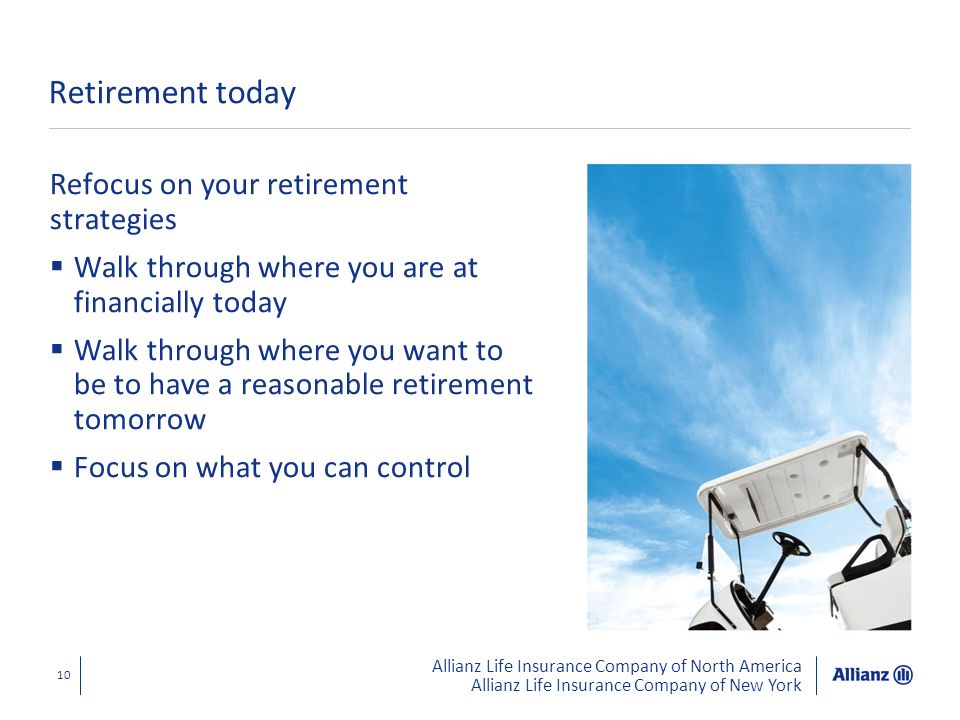Retirement today Refocus on your retirement strategies