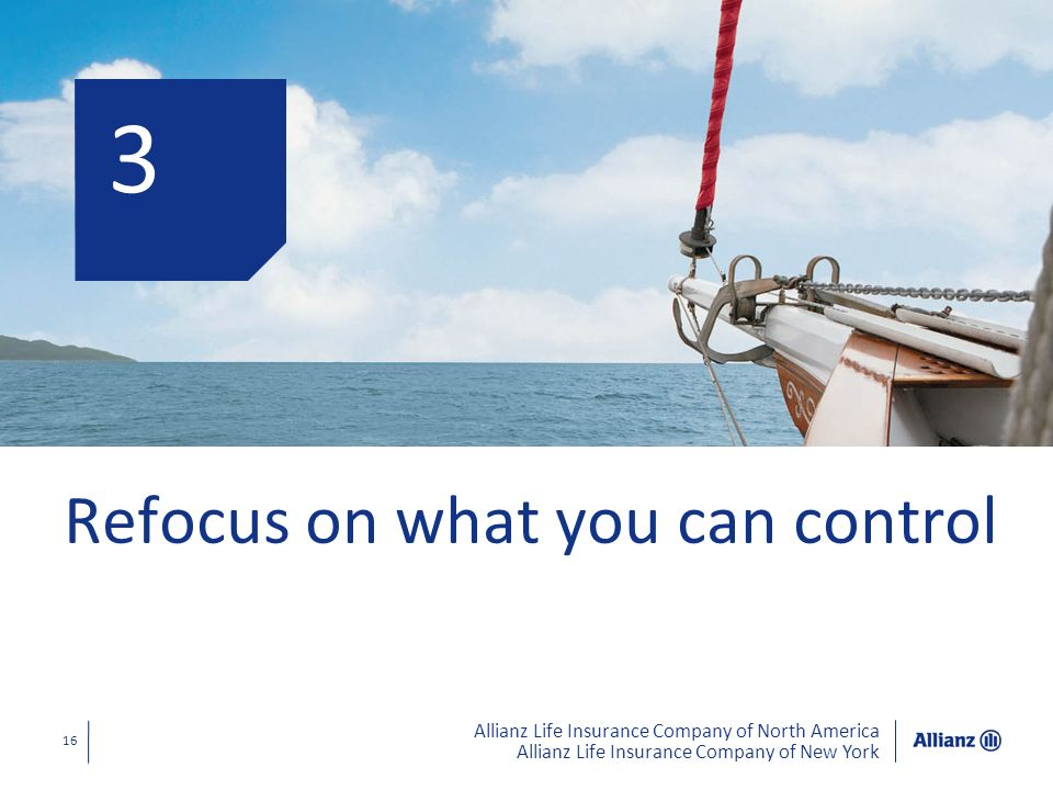 3 Refocus on what you can control