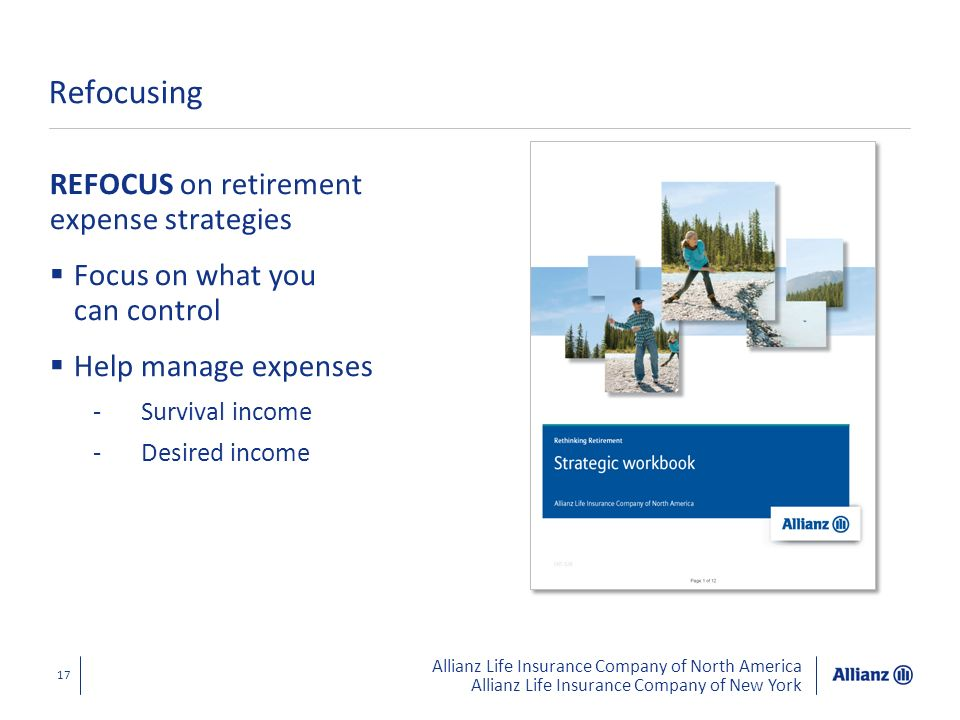Refocusing REFOCUS on retirement expense strategies