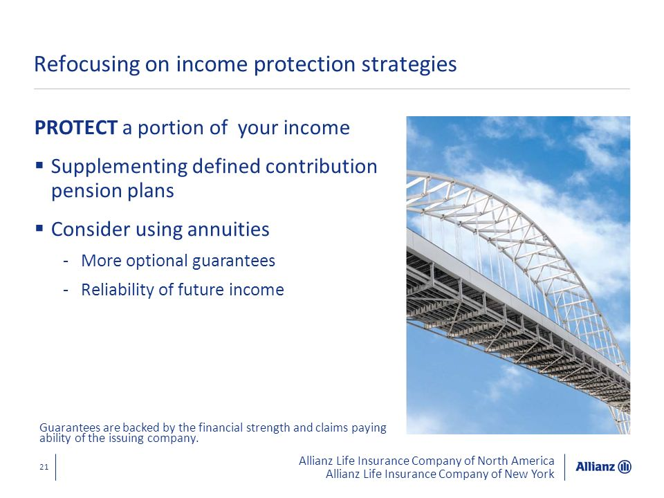 Refocusing on income protection strategies