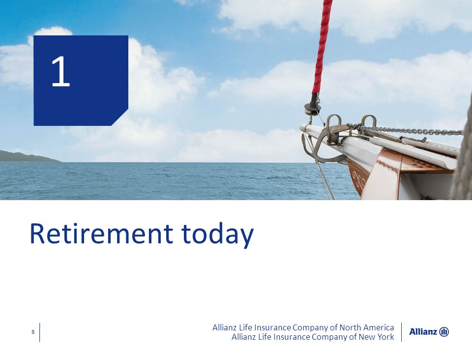 1 Retirement today Let's start by looking at the retirement reality of today.