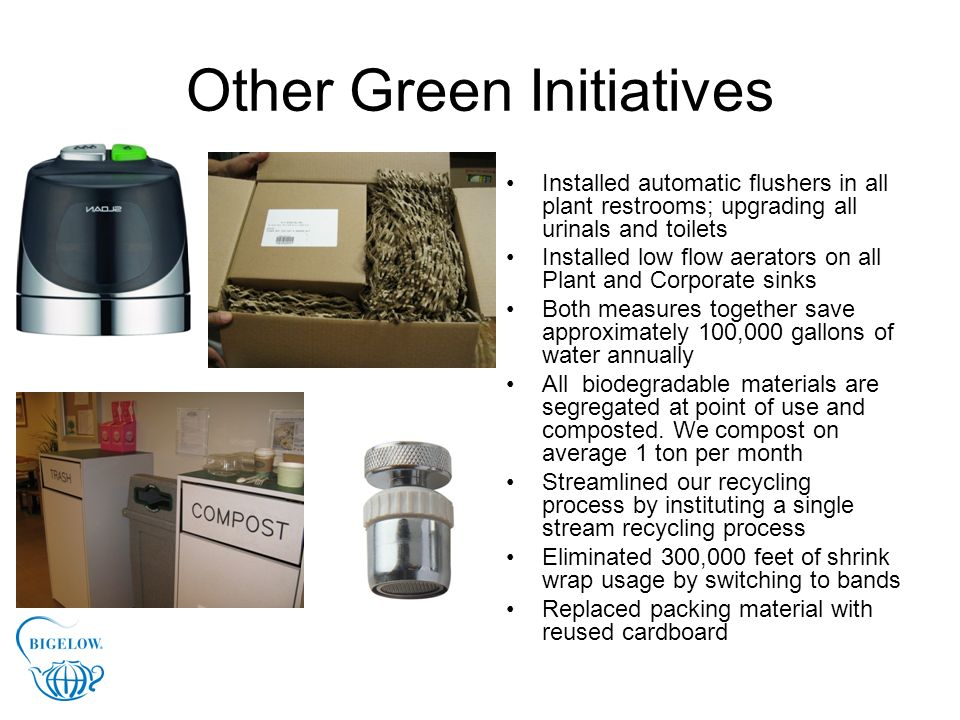 Other Green Initiatives