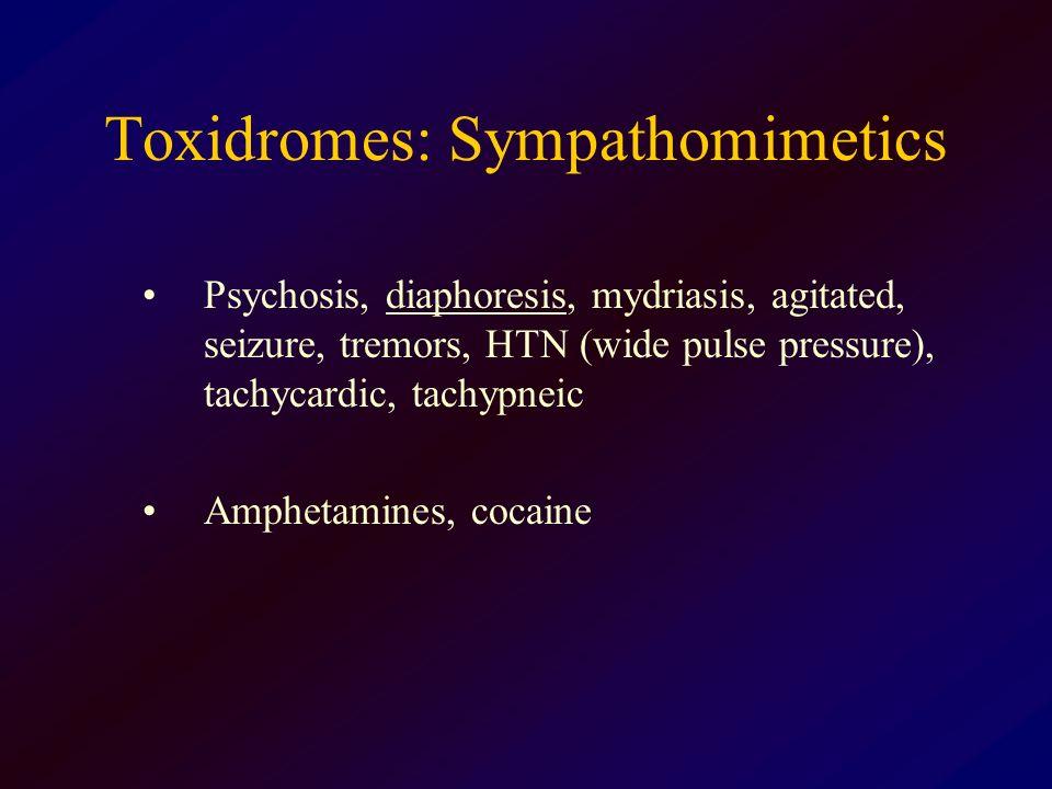 Toxidromes: Sympathomimetics