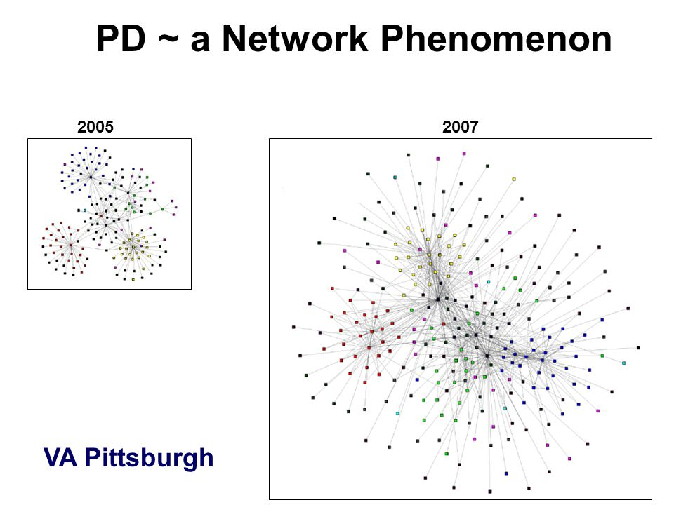 PD ~ a Network Phenomenon