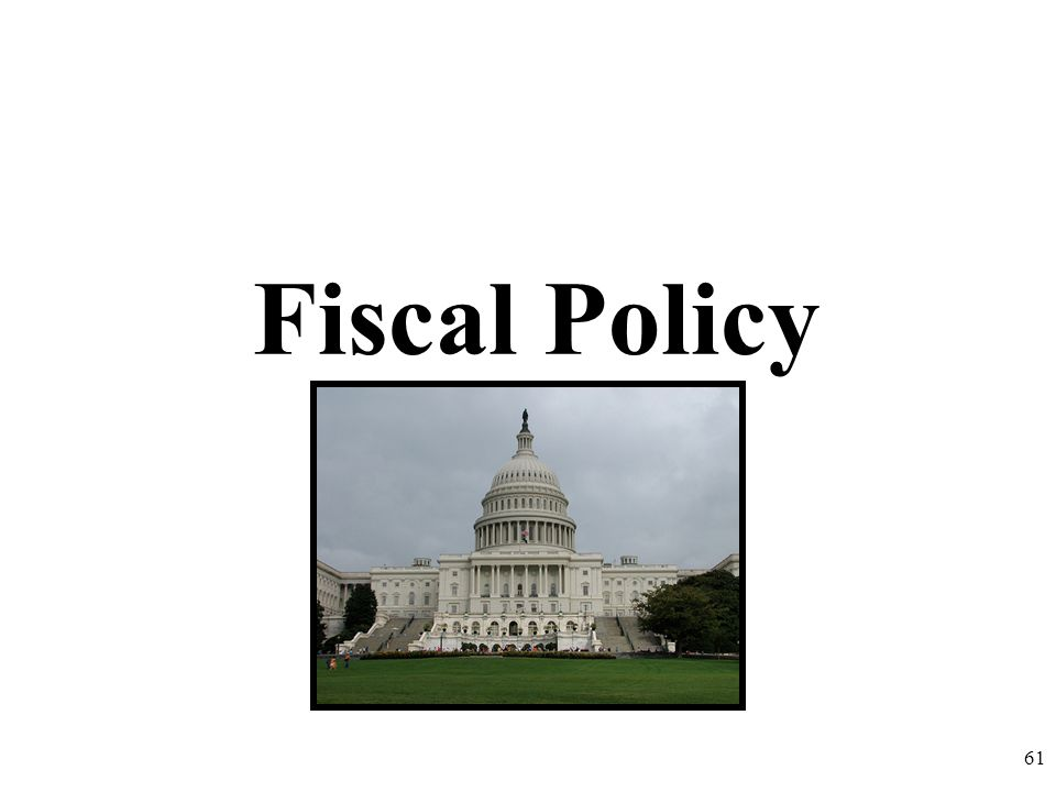 Fiscal Policy 61