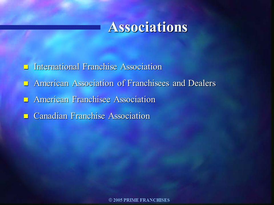 Associations International Franchise Association