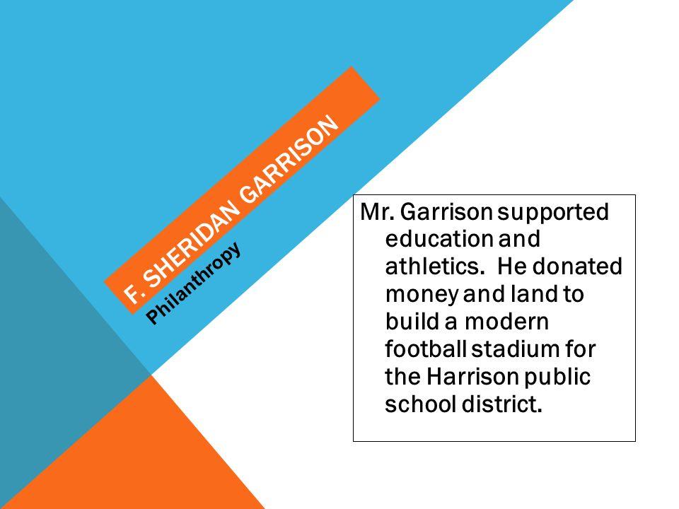 F. Sheridan Garrison