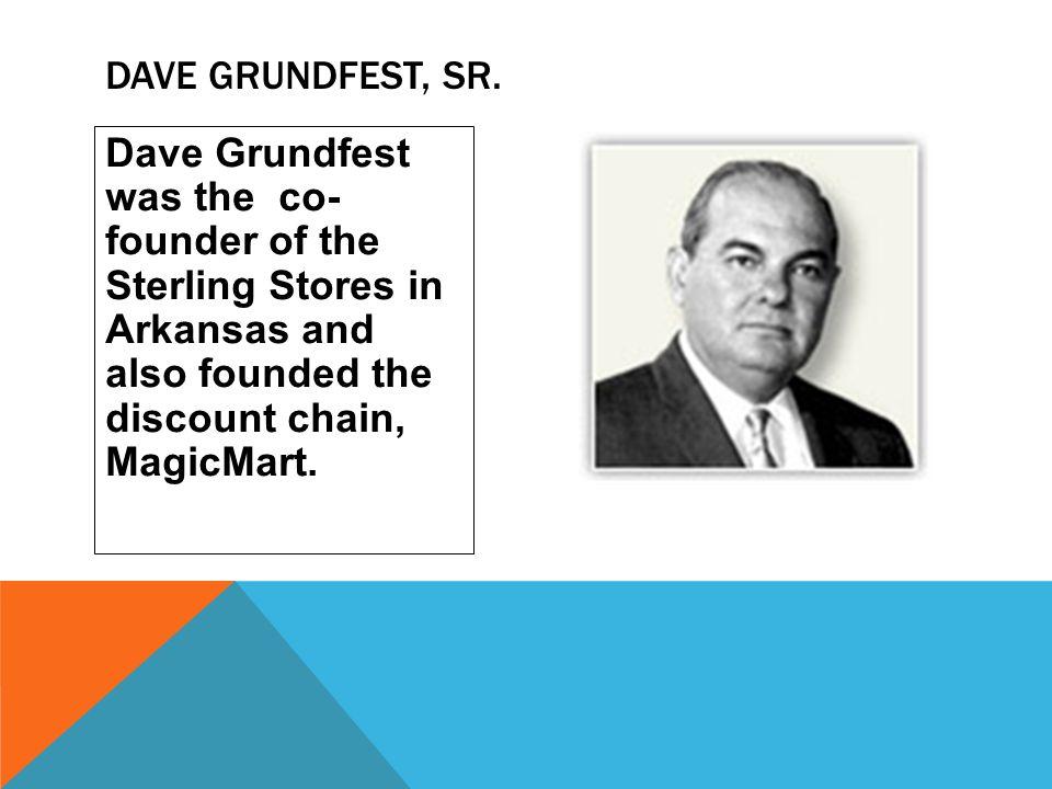 Dave Grundfest, Sr.