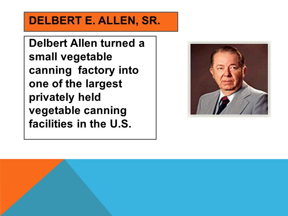 Delbert E. Allen, Sr.