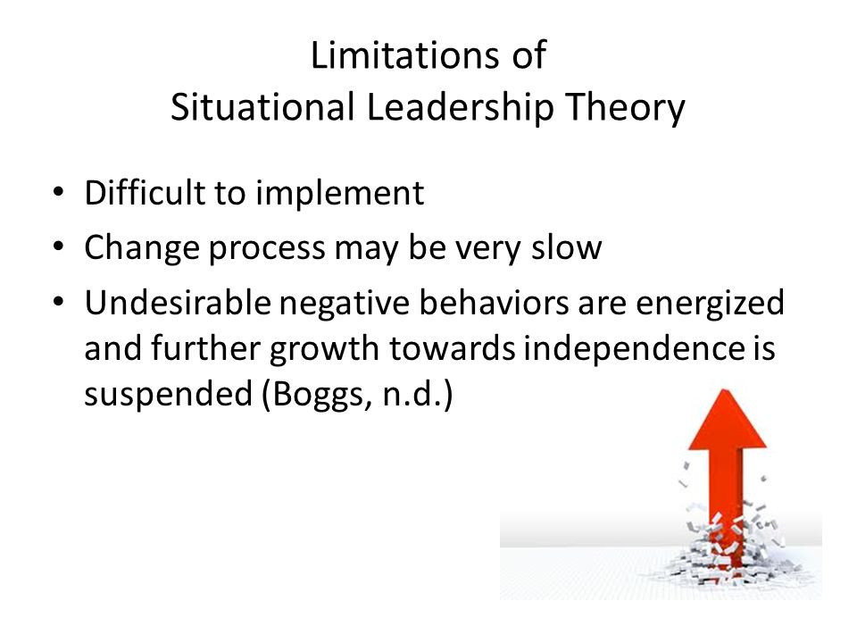 Limitations of Situational Leadership Theory