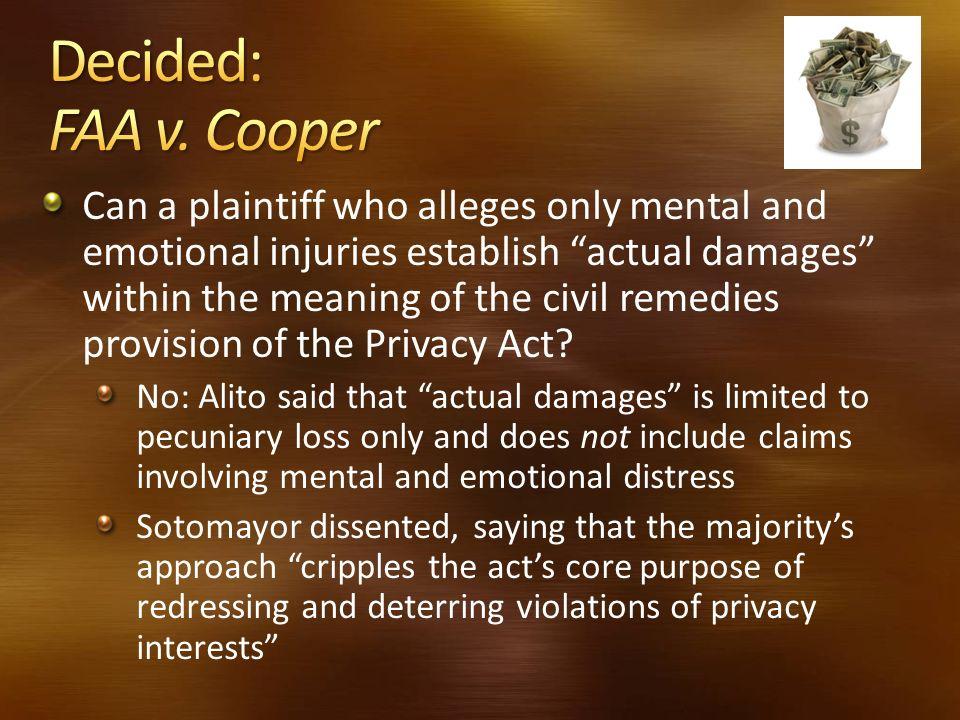 Decided: FAA v. Cooper