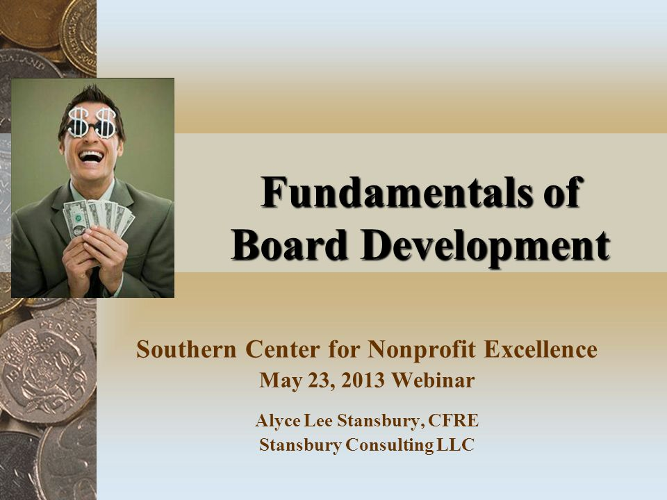 Fundamentals of Board Development