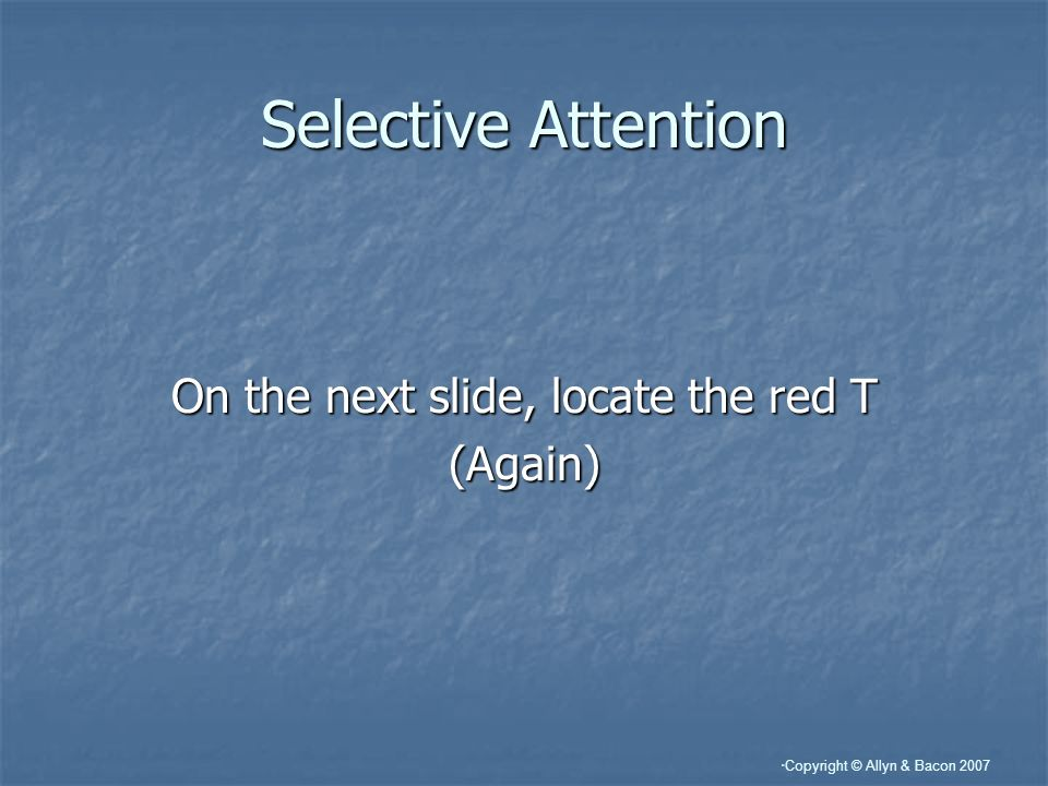 On the next slide, locate the red T