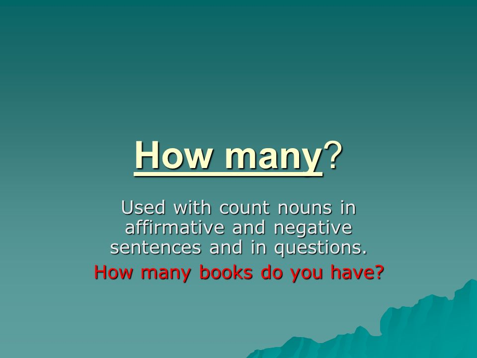How many books do you have