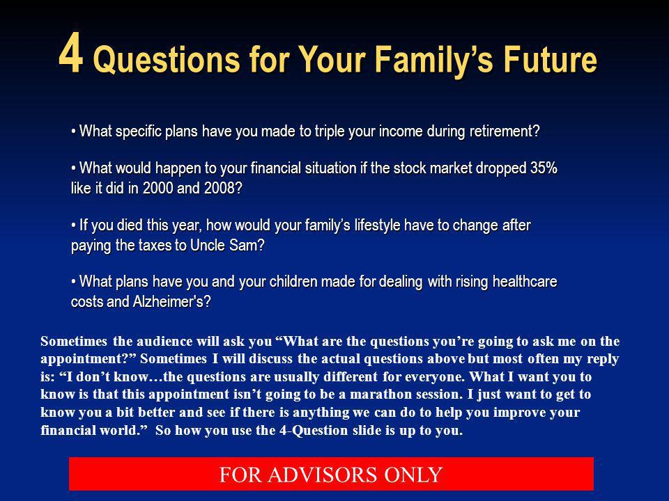 4 Questions for Your Family's Future