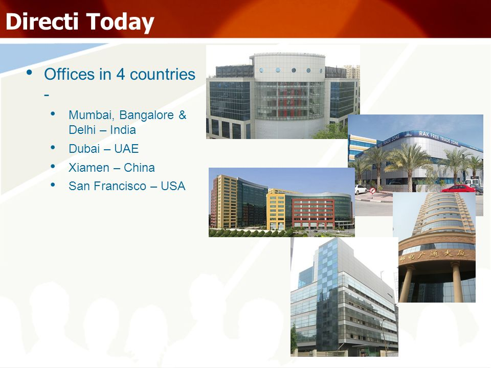 Directi Today Offices in 4 countries -
