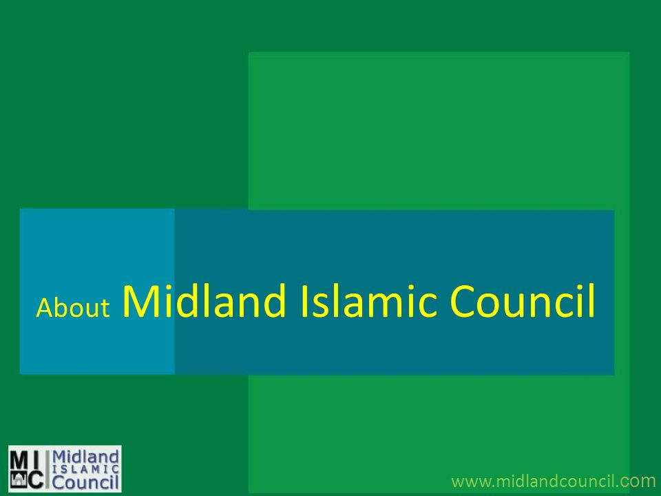 About Midland Islamic Council