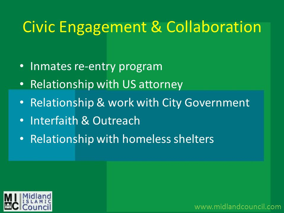 Civic Engagement & Collaboration