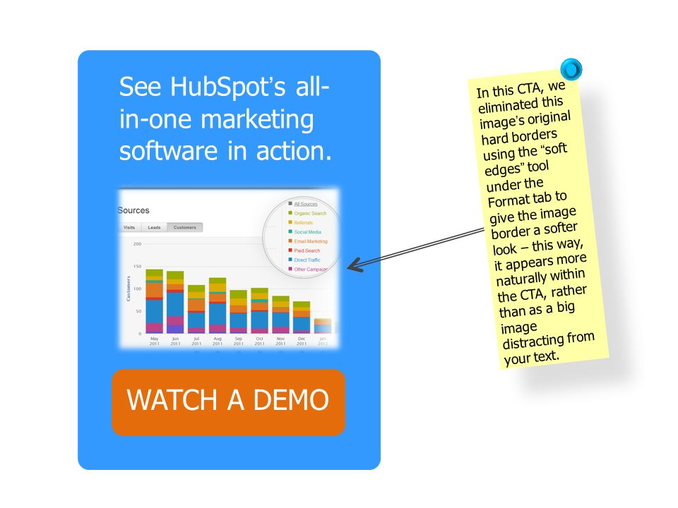 WATCH A DEMO See HubSpot's all-in-one marketing software in action.
