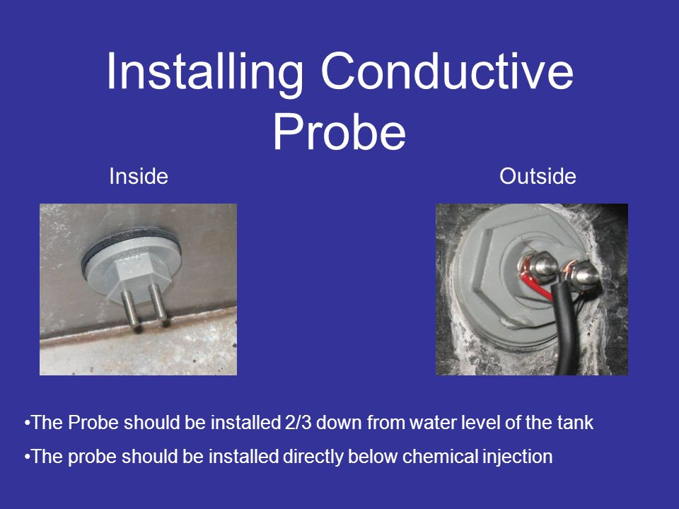 Installing Conductive Probe