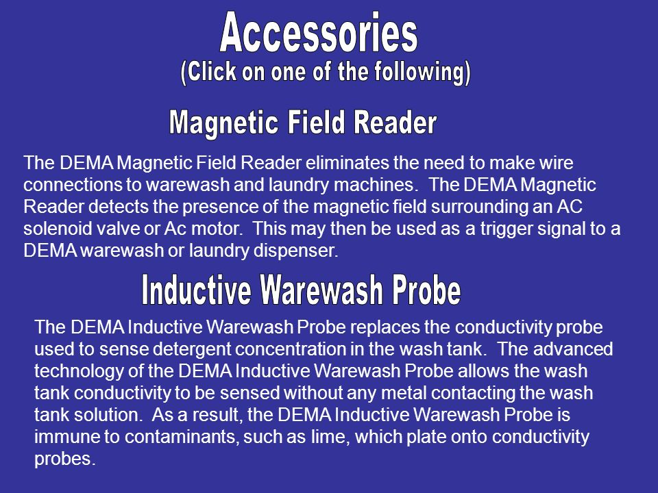 Accessories Magnetic Field Reader Inductive Warewash Probe